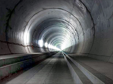 Gothard Base Tunnel.