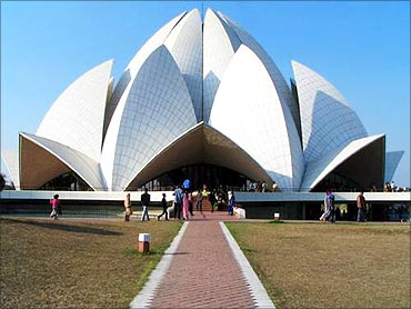 Lotus Temple, New Delhi.