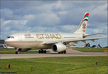 Etihad Airways.