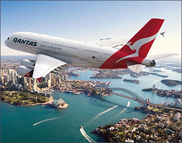 Qantas Airways.