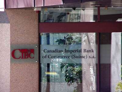 Canadian Imperial Bank of Commerce.