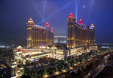 Galaxy Macau, a resort in Macau.