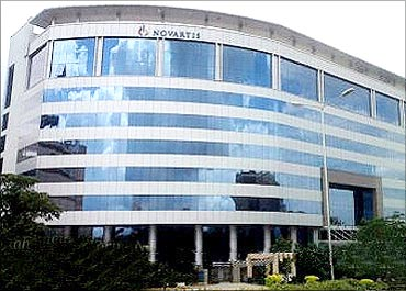 Novartis Building, Hyderabad.