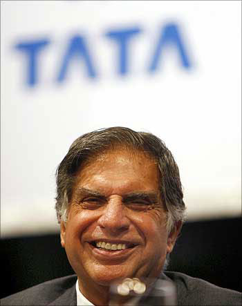 Siva came closer to Ratan Tata.