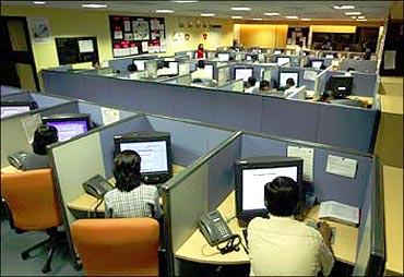 India's IT and BPO exports jumped 18.7 per cent.