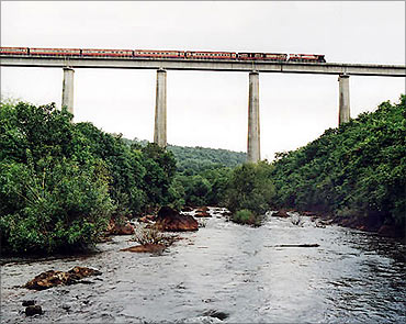 Panvalnadi bridge in Maharashtra.