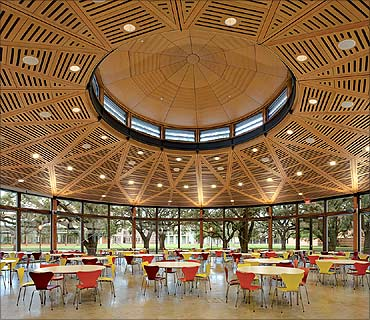 Cafe at North College, Rice University.
