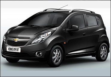 Chevrolet Beat Electric.