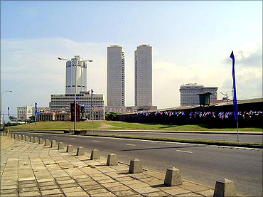 The city of Colombo.