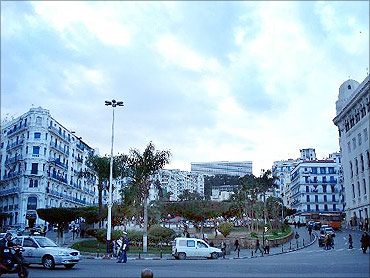 The city of Algiers.