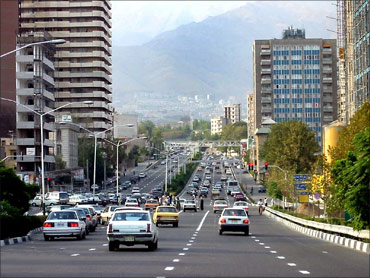 The city of Tehran.