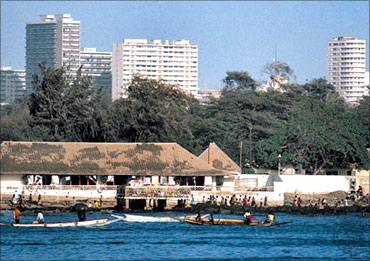 The city of Dakar.