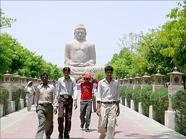 The land of Lord Buddha.