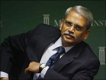 S Gopalakrishnan, co-founder, CEO and managing director of Infosys Technologies.