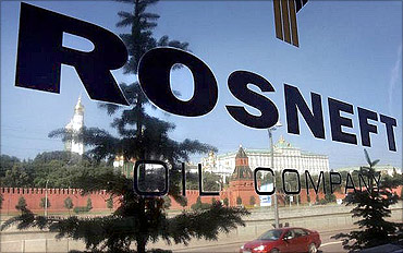 Rosneft is a Russian oil company.
