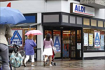 Aldi is based in Germany.