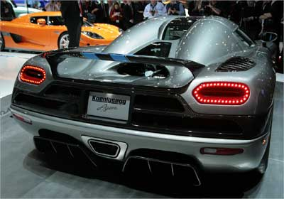 Rs 12.5-crore Koenigsegg Agera now in India