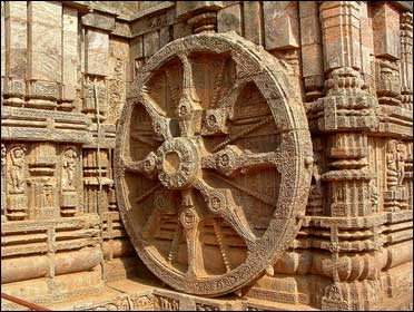The Konark Temple.