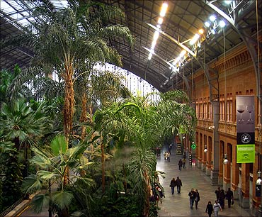 Madrid Atocha.