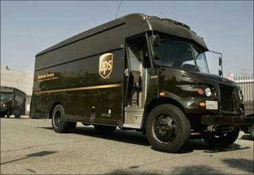 UPS is a package delivery company.