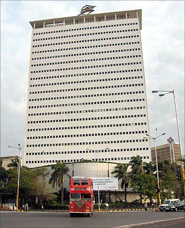 Air India headquarters in Mumbai.