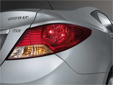 Rear combination lamps.