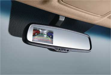 Fuildic Verna's rear parking assist system.