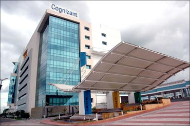 Cognizant's campus in Kolkata..