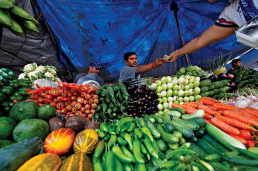 Food prices have risen between 10 and 35 per cent in various countries.