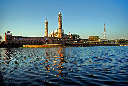 A mosque in Bhopal.