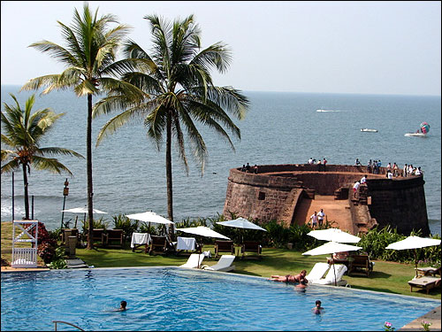 Taj Hotels Fort Aguada Beach Resort, Goa.