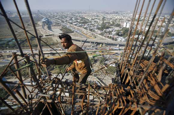 Ghaziabad is seeing a construction boom.