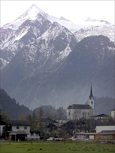 Village of Kaprun in Austria.