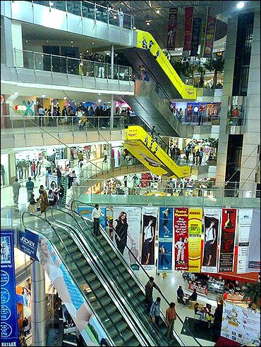 Treasure Island Mall, 1st in Madhya Pradesh.