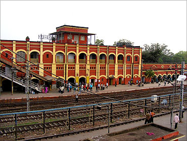 Kharagpur Railway station.