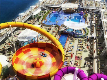 Norwegian Epic is the third-largest cruise ship in the world.