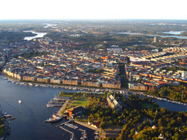 A view of Stockholm, capital of Sweden.