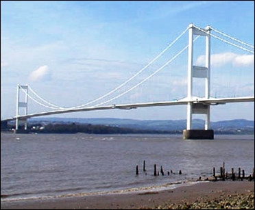Severn Bridge.