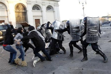 These protests have got the imagination of people from London to Rome.