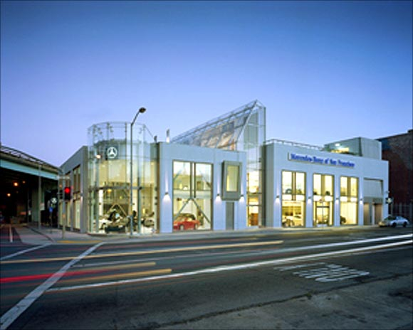 Mercedes-Benz Automotive Dealership.