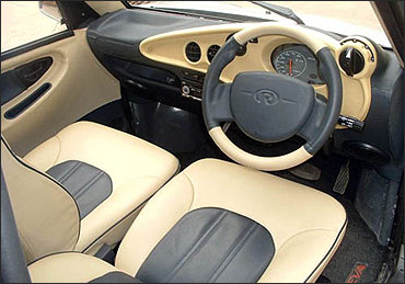 Interior view of Reva i.