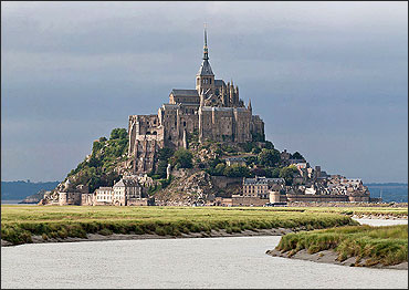 The Mont Saint-Michel is one of the most visited sites of France.