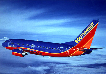 Southwest Airlines.