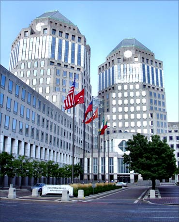 Proctor and Gamble headquarters.