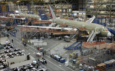 The making of the Boeing 787 Dreamliner