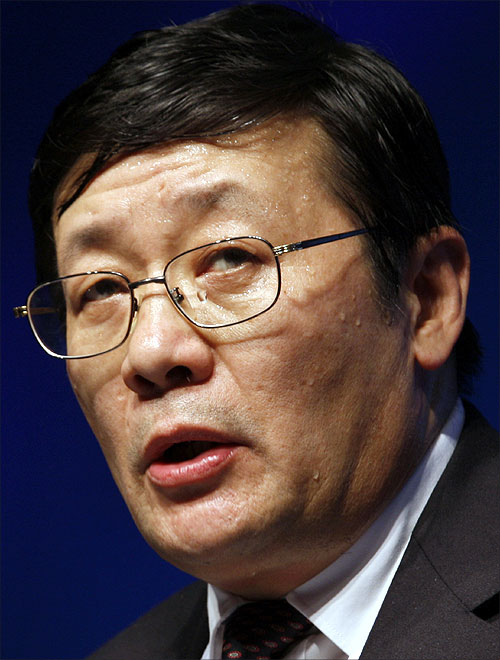 Lou Jiwei, Chairman and CEO of China Investment Corporation.