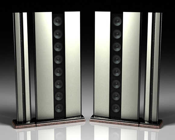Megatrend MKIII Speakers.