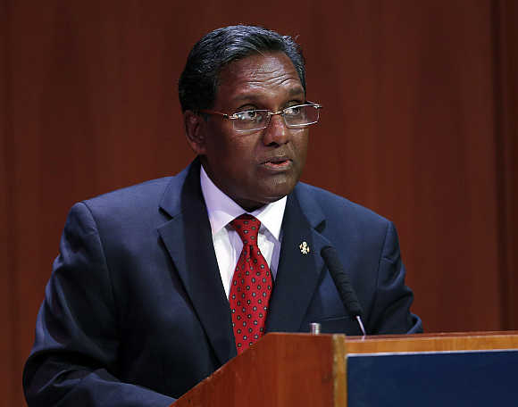 President of Maldives Mohamed Waheed Hassan.