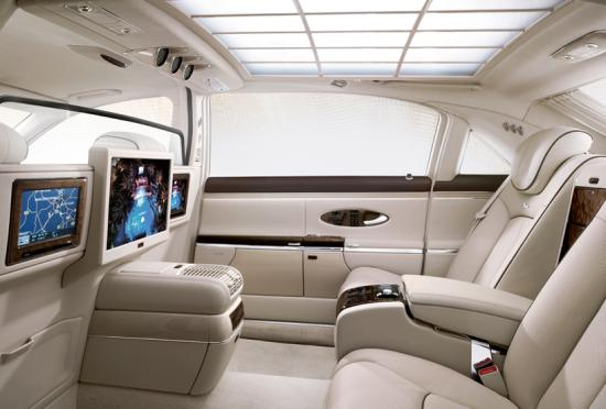 Interior of Maybach 62 S