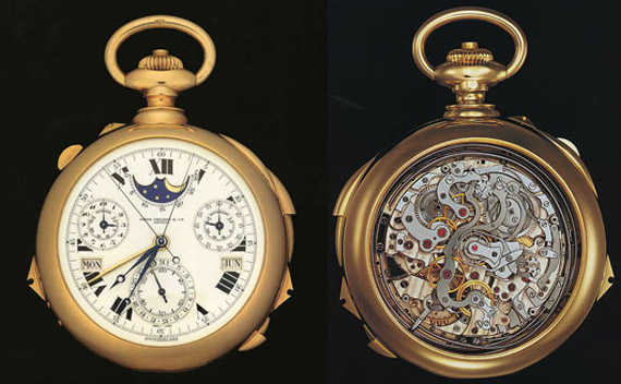 Patek Philippe Henry Graves Super Complication Pocket Watch.